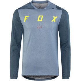 Fox Indicator Mash Camo LS Jersey Men blue steel